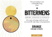 Bittermens Orange Cream Citrate (146ml)
