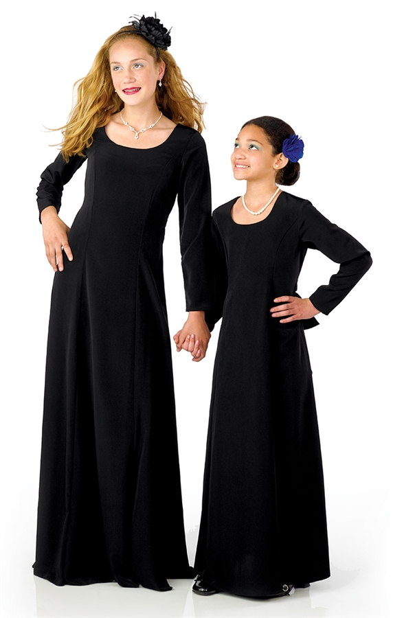 Concert Dresses | Lillian Floor Length Dress - Youth | Cousin\'s ...