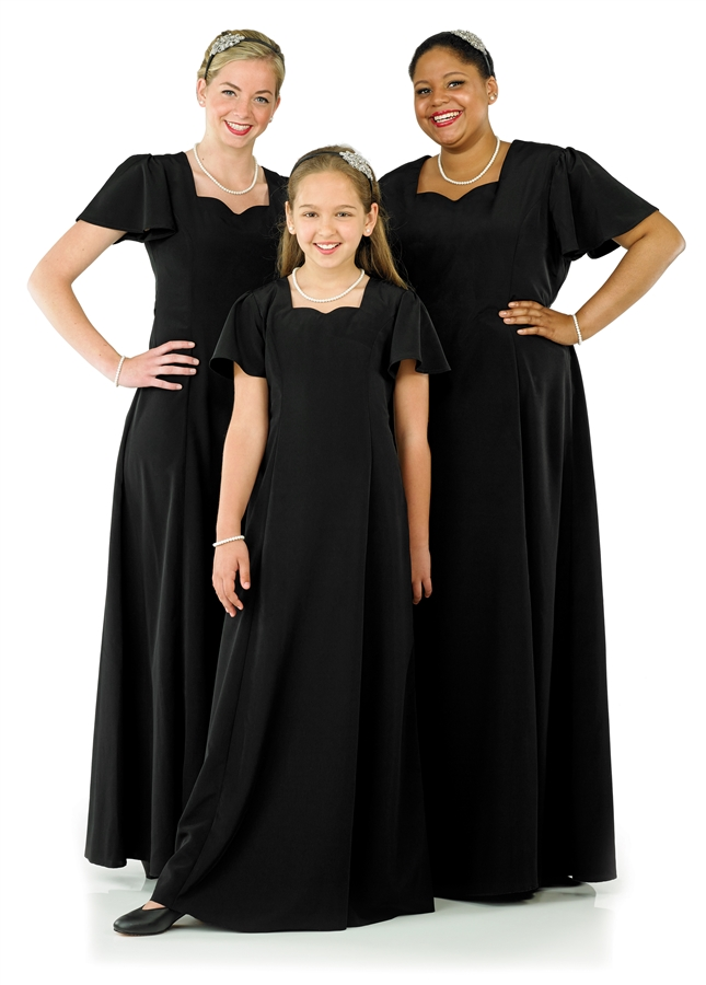Stunning Choral Dresses And Concert Uniforms