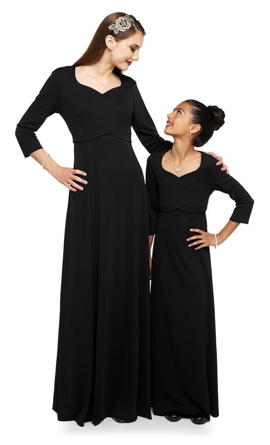 Concert Dresses   Charlotte Heart Shaped Neck Floor Length Dress ...