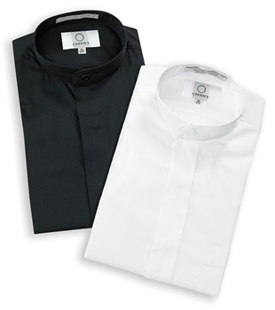 Mandarin Collar Non-Pleated Shirts