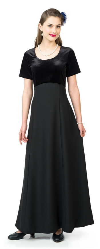 Julia Scoop Neckline Dress