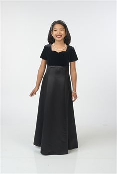 Stephanie Sweetheart Neckline with Empire Waist-Youth