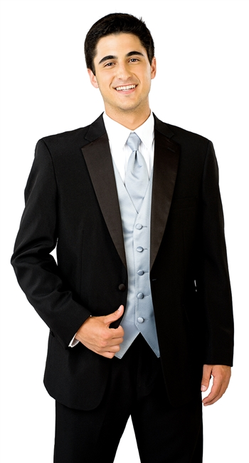 Jonathan Fancy Vest Polyester Tuxedo Package