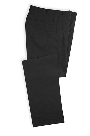 Polyester Adjustable Elastic Waist Dress Trousers