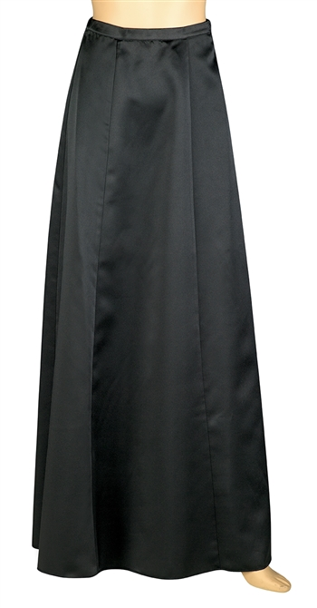Tatum Satin Floor Length Skirt