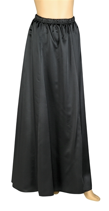 Rosalena Satin Floor Length Skirt