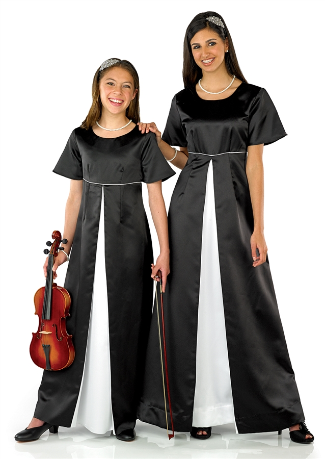 Choral gowns for community choirs at great prices