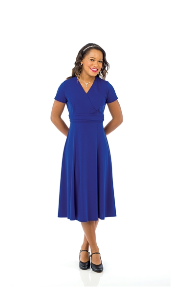 Grace Cross Over Swing Dress