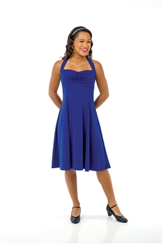 Naomi Halter Sweetheart Swing Dress