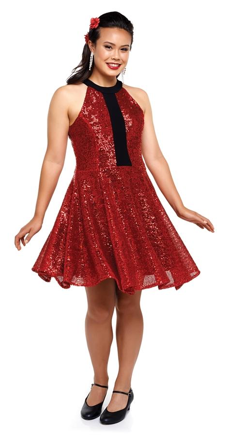 Show Choir Dresses Madison Scoop Neck Dress Cousins Concert Attire