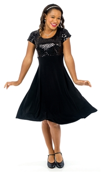 *NEW* Annika Scoop Neck Show Choir Dress