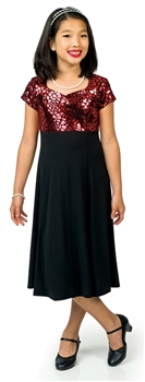 *NEW* Chelsea Sweetheart Neck Cap Sleeve Dress- Youth
