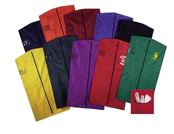 "44"" Nylon Garment Bags with Shoe Pouch"