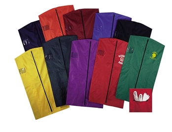 "65"" Nylon Garment Bags with Shoe Pouch"