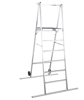 6' Space Saver (Ladder) Podium