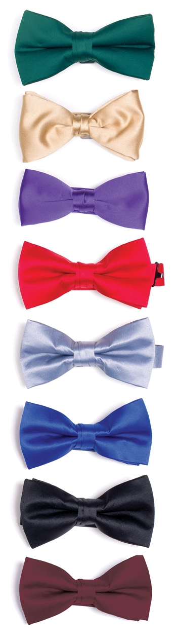 Stanley Deluxe Poly Satin Bow Ties