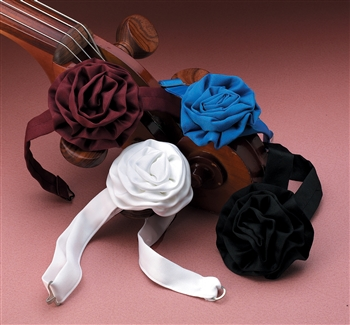 Poly Satin Rosette Ties