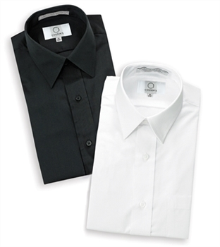 Laydown Collar Non-Pleated Dress Shirts