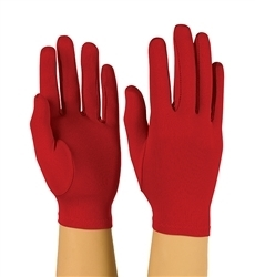 Solid Color Stretch Polyester Gloves