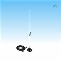 TRAM 1003 Mobile Antenna Dual Band VHF 144-148 MHz, UHF 430-450 MHz with Magnet Mount