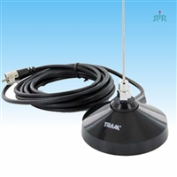 TRAM 1100, 1100MUHF Mobile Antenna with Magnet Mount Tunable