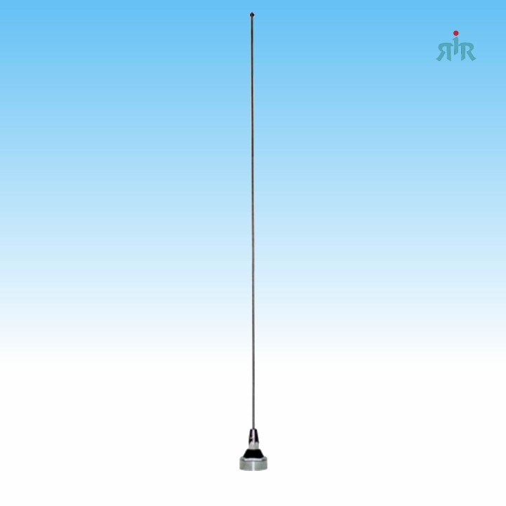 Antenna Wide Band 136-940 MHz, NMO, chrome mounting, 200 Watts rating