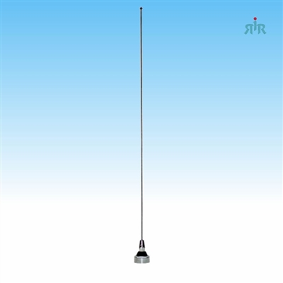 TRAM 1115 Mobile Antenna NMO Mounting Tunable from 136 to 940 MHz, 200 Watts Rating