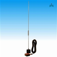 Antenna TRAM 1191 glass mount, dual band VHF-UHF