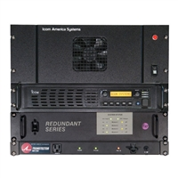Repeater IAS 120DU 120W UHF analog/digital IDAS, with 100% duty cycle.
