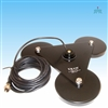 "TRAM 1269 Magnet NMO Antenna Mount Triple 5"" with 17' Cable and Assembled PL259 Connector"