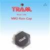 TRAM 1290 Rain cap to protect NMO-style mount from weather with antenna removed