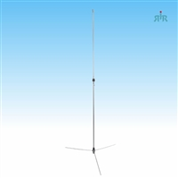 TRAM 1400 Antenna Base Tunable VHF 136-174 MHz 5/8 over 5/8 Wave 6 db Gain, Aluminum, 200 Watts Rating