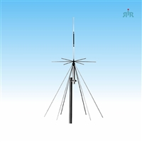 Antenna wide band for receive 25-1300 MHz, transmit on CB, amateur, Low bands 26-1200MHz.