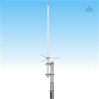 Antenna Base UHF 400-495 MHz, tunable, 5 dBd gain, 200W power rating.