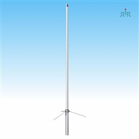 TRAM 1487 Antenna Base VHF 134-184 MHz, 4.5 dBd Gain, Tunable, 200 Watts Power Rating