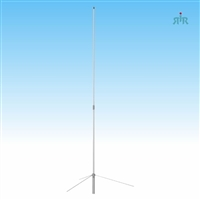 TRAM 1490 Antenna Base VHF 144-174 MHz, 6.7 dBd Gain, Tunable, 200 Watts Power Rating