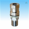 TRAM 208 BIGCAT Heavy Duty CB Stud Stainless Steel SO-239 with All Thread and Contact Pin