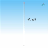 4BHC Antenna 26-29 MHz, 3/8 x 24 Thread Mounting, 1500 Watts
