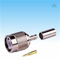 Connector TNC Male, crimp, for RG-58 type cable
