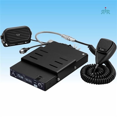 Icom A220M  mounting package with IC-A220 for ground vehicles.