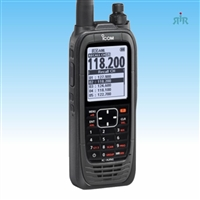 A25 AirBand 6W handheld transceiver with VOR