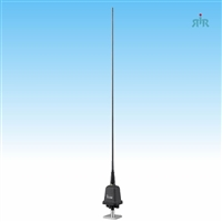 ICOM AH-740 Mobile HF Antenna with Automatic Tuning 2.5 -30 MHz, 125 W, 75 in. Height