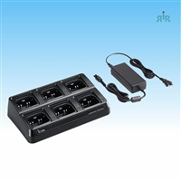 ICOM BC214 Six Unit Charger for BP279, BP280 Batteries