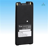 Icom BP-210N 1650mAh NiMH battery for IC-F24, IC-A6, IC-A8.