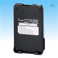 Icom BP227 Battery Li-ion 7.2V 1950mAh, waterproof for the F50, F60, M88 radios