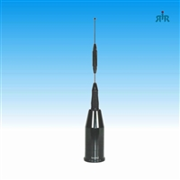 Antenna wideband, multiband 136-174/ 380-520/ 698-960 MHz, 3 and 6 dBb gain, NMO mounting, 160 Watts.
