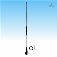 BROWNING BR-179 NMO Dual Band Antenna VHF 140-170 MHz Unity and UHF 430-470 MHz 2.5 dBd Gain