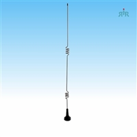 Antenna 800-900 MHz, collinear 5/8 over 5/8 over 1/4 wave, gain 5 dBd, NMO mounting.