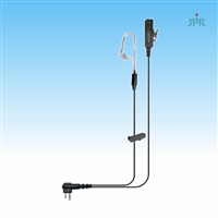 Klein Electronics DIRECTOR Earpiece NOISE CANCELING 2-wire, Speaker Surveillance Kit for Kenwood, Motorola